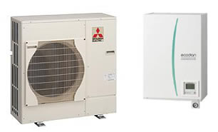 heatpumps4homes wide range of heat pumps