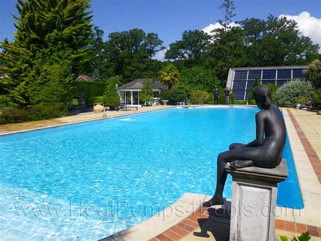 Through our sister company heatpumps4pools we can offer for Domestic swimming pool design